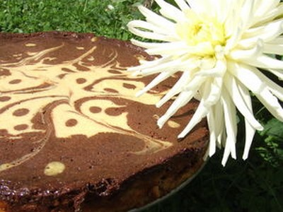 recette - cheese cake marbré