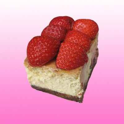 recette - cheesecake aux fraises et chocolat blanc