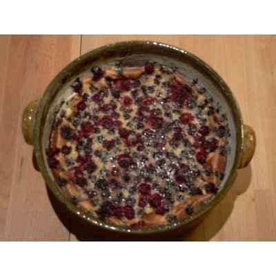 recette - clafoutis à la mûre