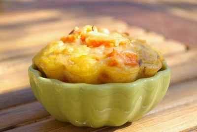 recette - clafoutis carottes, miso et carvi...à la manière de l. salomon