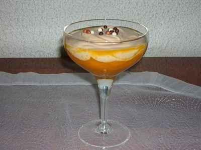 recette - compotée d 'abricots et mousse de carambar