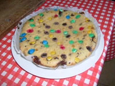 recette - gâteau au yaourt et m&ms