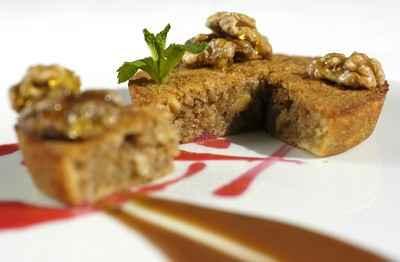 recette - gâteau aux noix du périgord