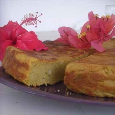recette - gâteau réunionnais