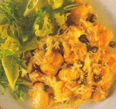 recette - gratin de gnocchis au thon