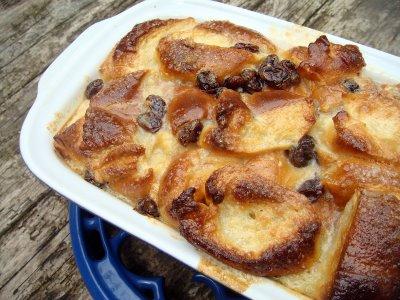 recette - la version anglaise du pain perdu :  le bread and butter pudding