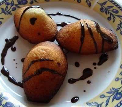 recette - les madeleines de notre enfance...