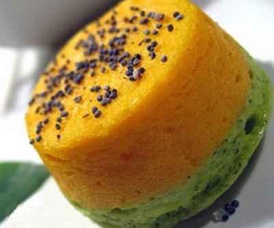 recette - petites terrines bicolores carottes, courgettes
