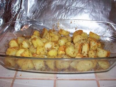 recette - pommes de terre sableuses