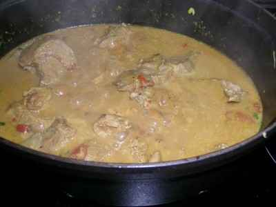 recette porc au curry facile et rapide. Black Bedroom Furniture Sets. Home Design Ideas