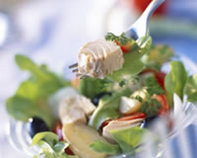 recette - salade au thon