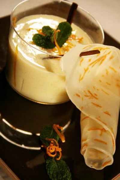 recette - soupe de chèvre aux saveurs orientales