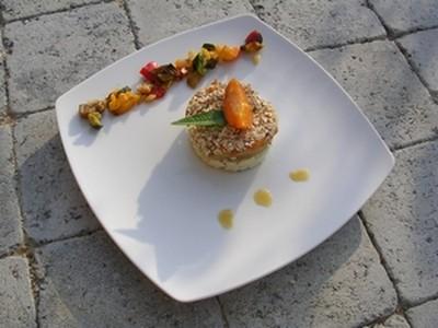 recette - tajine destructuré aux abricots et au poulet