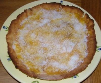 recette - tarte abricot coco