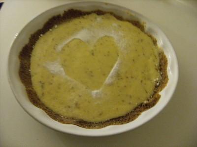 recette - tarte au citron vert