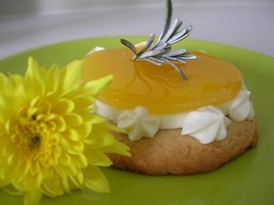 recette - tartelette 'miroir aux agrumes'