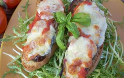 recette - tartines à l'italienne