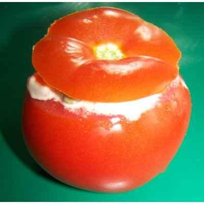 recette - tomates farcies à la macédoine de légumes