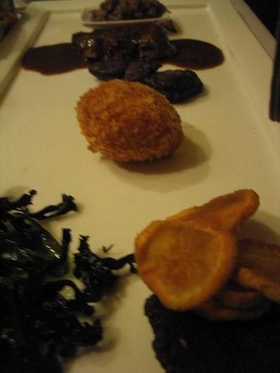 recette - beignets de pomme de terre à la mimolette vieille et panko