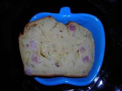 recette - cake au reblochon et aux lardons