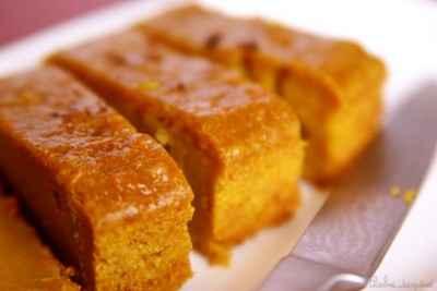 recette - cake de patates douces aux notes exotiques