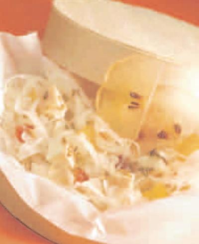 recette - choucroute à la mostarda et au munster
