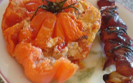 recette - coeurs de boeuf farcies à la polenta