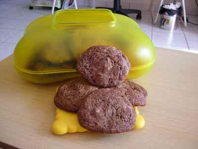 recette - cookies 2 chocolats