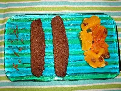recette - fondant au chocolat et safran