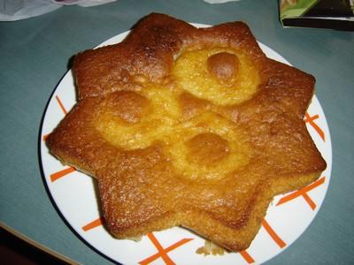 recette - gâteau au yaourt décoré