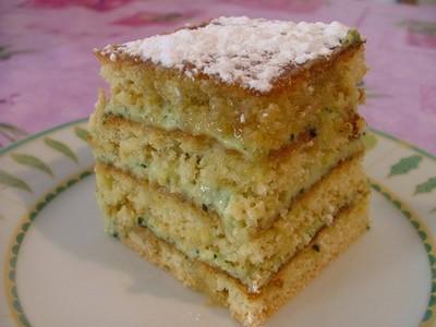 recette - gâteau de courgettes 'bonne gourmandise'
