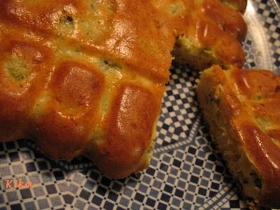 recette - gâteau pommes / kiwis