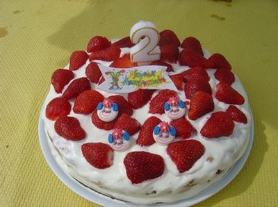 recette - gâteaux au fraises