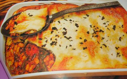 recette - gratin de lasagnes tex mex