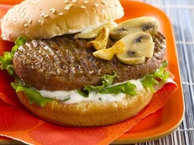 recette - hamburgers kebab à la forestière et au piment doux