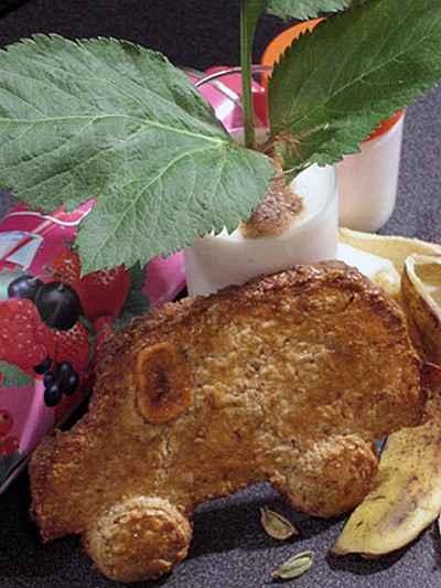 recette - kangoo sablée et bananeraie givrée