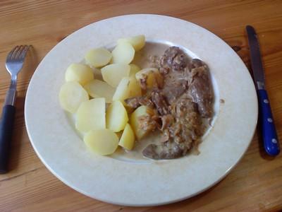 recette - les foies de veau selon laurent