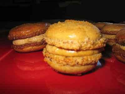 recette - macarons aux spéculos