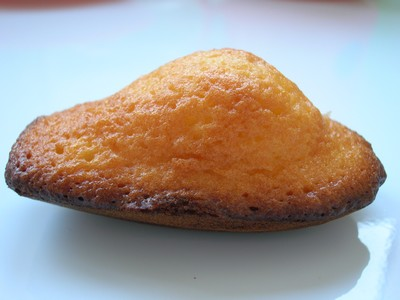 recette - madelaines au beurre