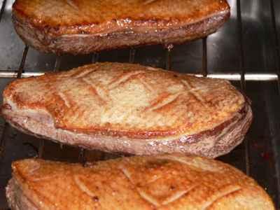 recette - magrets de canard et chutney de pommes