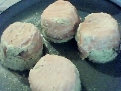 recette - mousse de courgette au saumon fumé