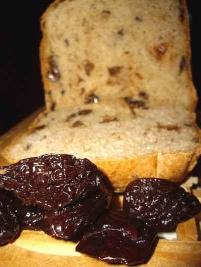 recette - pain aux pruneaux