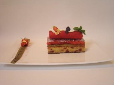 recette - passion rouge...guariguette, rhubarbe et violette