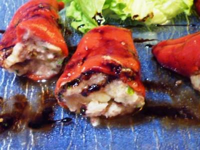 recette - poivrons farcis à la brandade de sardines