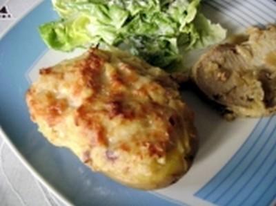 recette - pommes de terre surprise