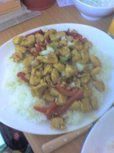 recette - poulet au piments et miel
