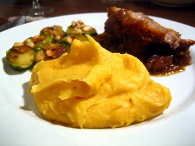 recette - purée de pommes de terre et carottes au persil