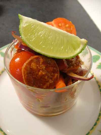 recette - red hot chili verr'in