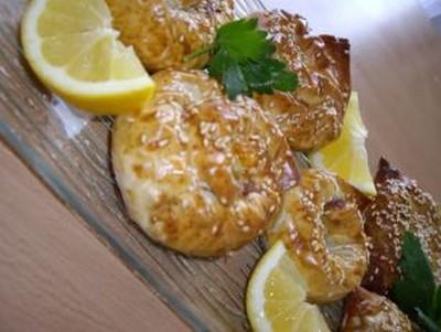 recette - roulé croustillant au poulet