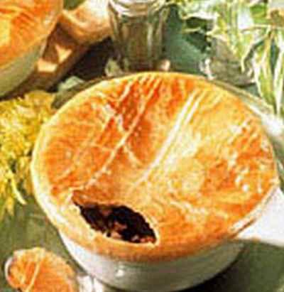 recette - soupe de foie gras croustillante
